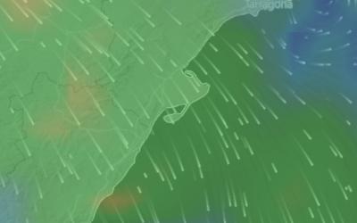 previsiones  de viento animadas